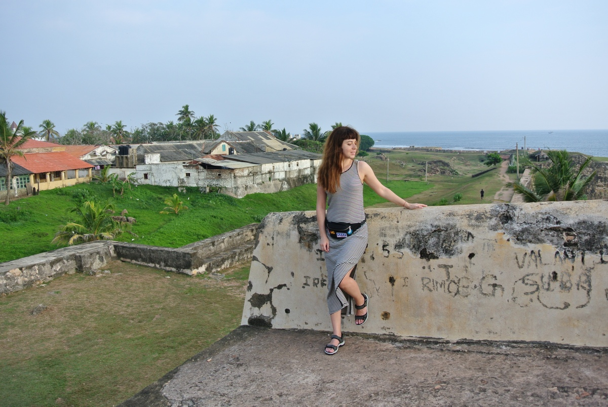 Corina in Galle